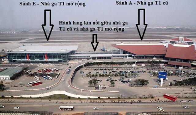 Mô tả chi tiết vị trí tại sân bay Tân Sơn Nhất