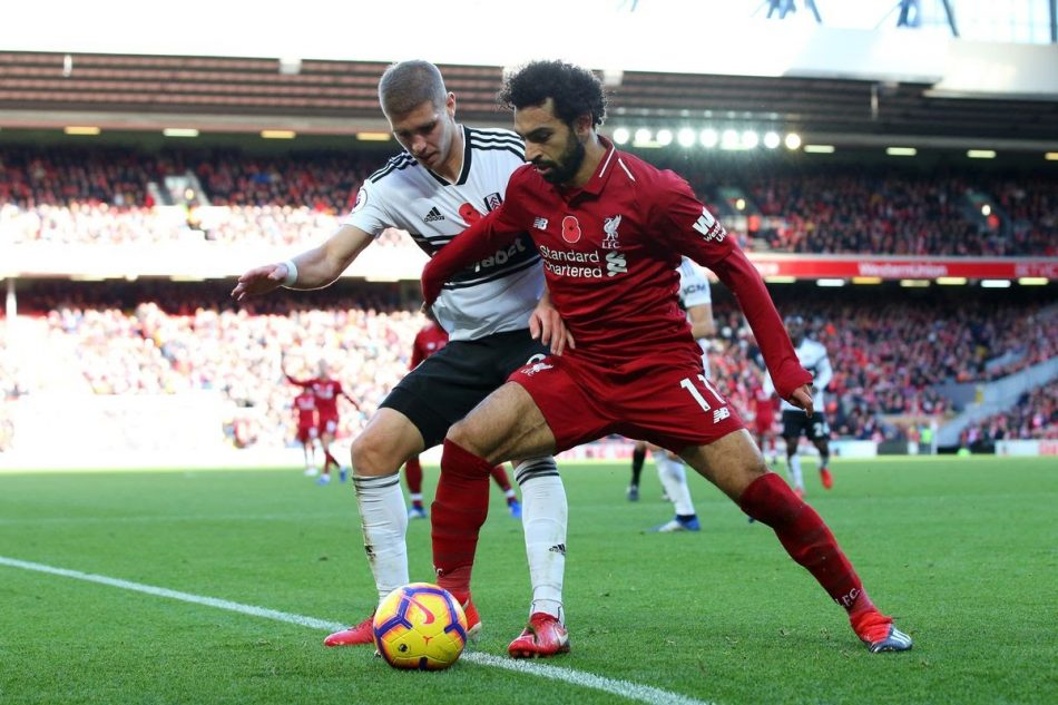 Fulham đang có thành tích không tốt so với Liverpool