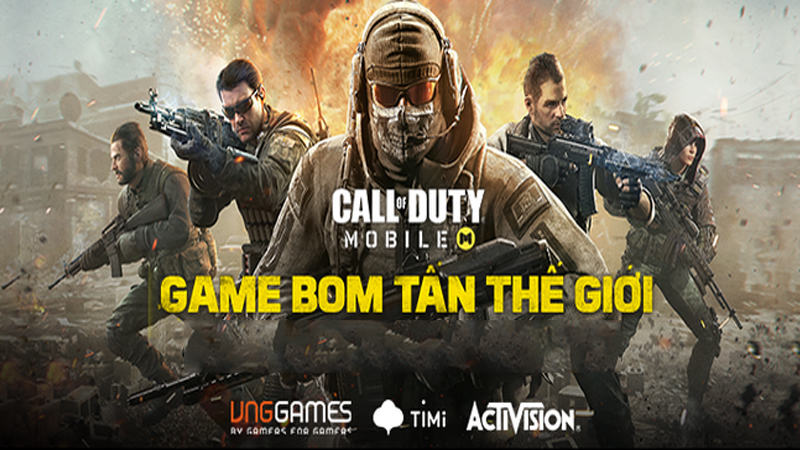 Thử sức cùng game Call of Duty: Mobile Mobile